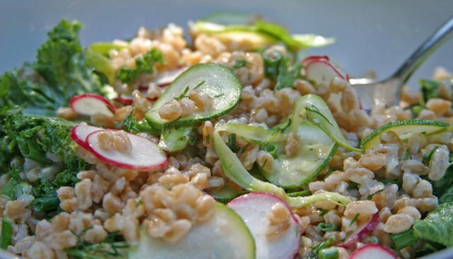 Buttermilk Farro Salad Recipes — Dishmaps
