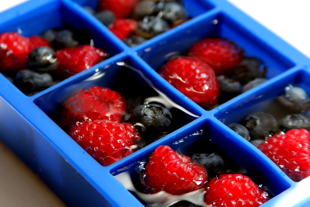 Berry Ice Cubes